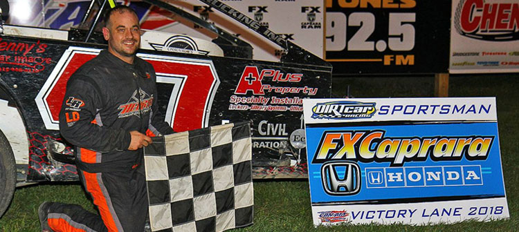 Fx Caprara Honda >> Henry Takes DIRTcar Sportsman Feature In Friday's Portion ...